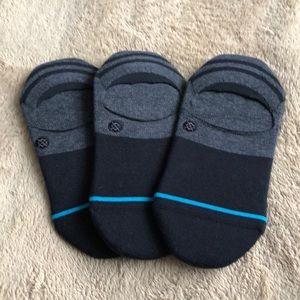 (3) Women's Stance Gamut Super Invisible Socks